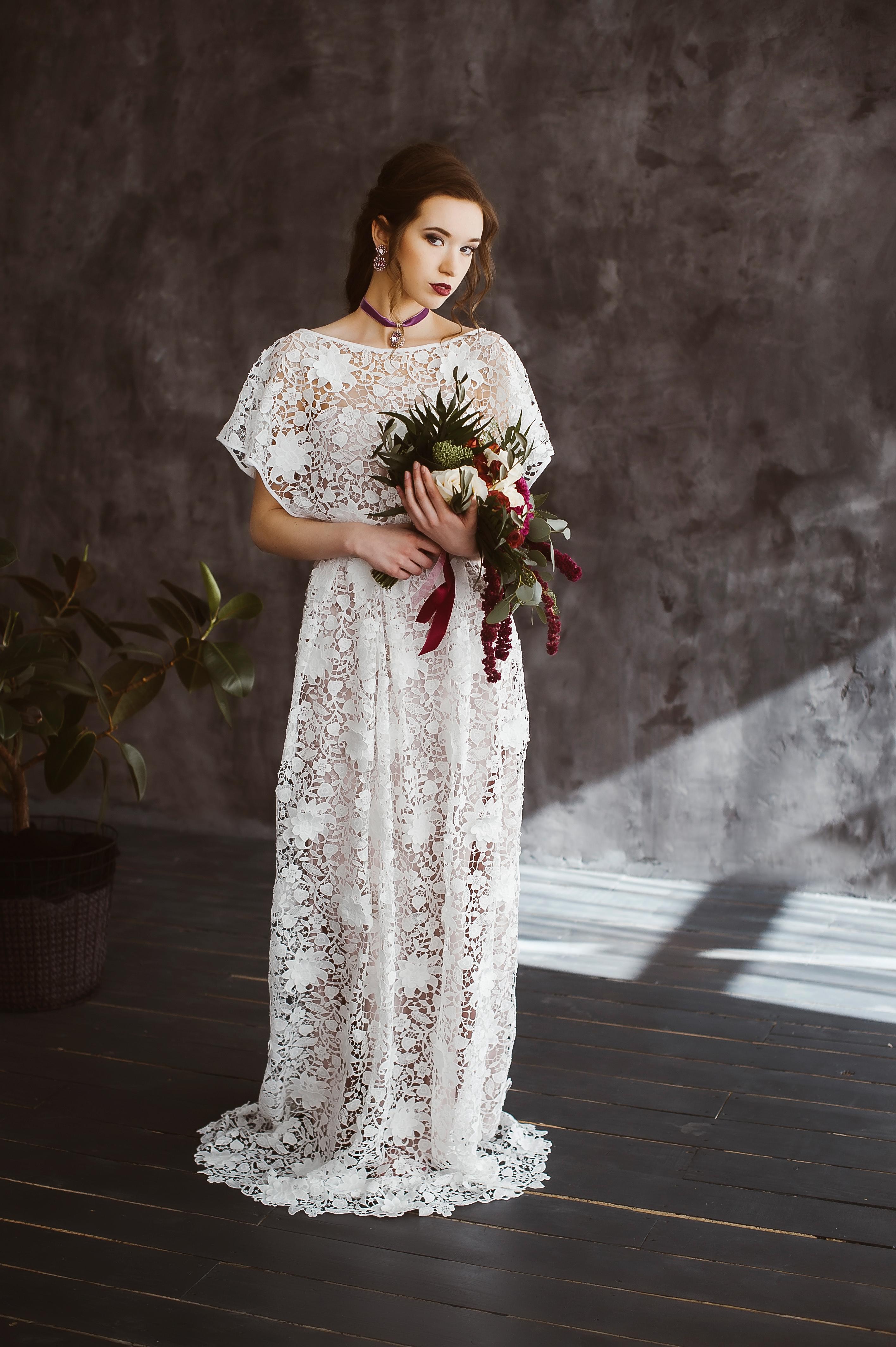 boho vestuvine suknele